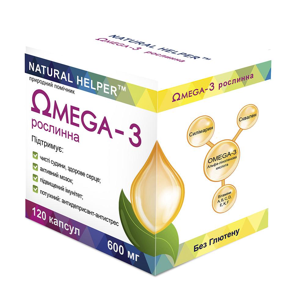 Omega 3 Природный Помощник