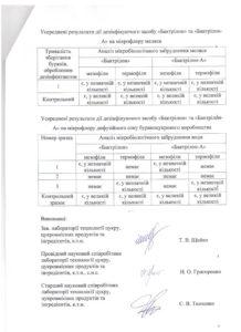 Протокол испытаний 3